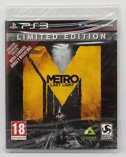 METRO LAST LIGHT LIMITED EDITION PLAYSTATION 3 PS3 PLAY STATION PAL ESPAÑA NUEVO