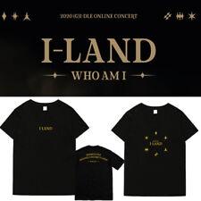 Kpop GIDLE (G)I-DLE T-SHIRT I LAND WHO AM I Concert Tshirt Unisex Contton TEE
