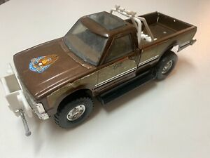 """Vintage The FALL GUY ERTL """"Colt"""" 1/16th Metal Steel Pickup Toy Truck 2173 USA"""