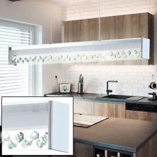 LED Glas Decken Pendel Leuchte Wohn Zimmer Kristall Strahler Hänge Lampe Chrom