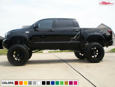 Decal Sticker Vinyl Side Bed Mud Splash Kit for Toyota Tundra Off-Road 07-17