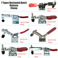 1PCS GH-201 Toggle Clamp Holding Capacity Horizontal Quick Release Tool New