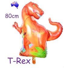 T-Rex Dinosaur Foil Balloon Jumbo Large 80cm  TRex Jurassic Prehistoric Party
