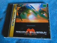 Japanese Sega Saturn Import Radiant Silvergun by Treasure, Iconic Shooter Shmup