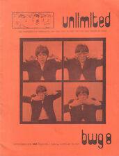 BEATLES UNLIMITED BWG 1978 nr. 08 - DUTCH MAGAZINE FOR FANS