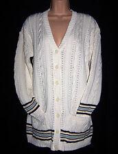BNWT Laura Ashley vintage spring 95 knit cotton sportswear cricket cardigan, M