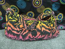 Extra Large Multi-Color Random Design Cotton Hobo Style Shoulder Bag