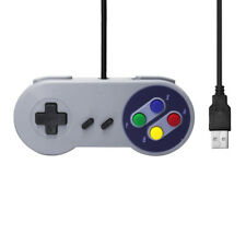 Fashion  SNES USB Gaming Controller GamePad Joystick For Windows PC Mac