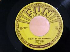 Rockabilly 45 BILLY RILEY Down By The Riverside / No Name Girl SUN 313 NM!