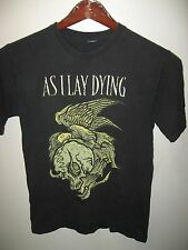 As I Lay Dying Metalcore Heavy Metal Band Faded Grunge Concert Tour T Shirt Sm