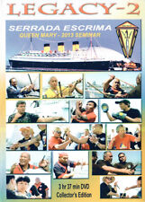 Serrada Escrima Seminar Queen Mary 2013 - 2 DVD Box Kali Arnis Eskrima