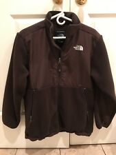 Boys XL Brown North Face Full Zip Fleece Jacket