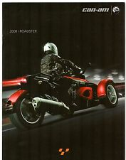 Can-am spyder roadster 2008 uk market sales brochure