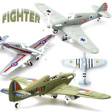 Random 1/48 Scale Assemble Fighter Model Plane War Toys Building Aircraft Gift