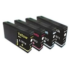 4 inks  T7011-T7014 XL NON OEM FOR EPSON WorkForce Pro WP- 4535DWF - WP-4545