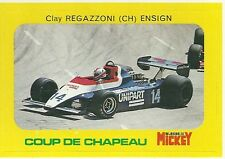 Autocollant sticker Mickey Clay Regazzoni Ensign N180 F1 Formule 1