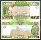 GUINEA - 500 FRANCOS 2006/2012 Pick 39a SC UNC