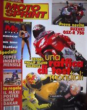 Motosprint 9  2000 Inserto Il casco per tutti, comprare la moto on line. Suzuki