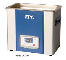 Tpc Dentsonic Uc 400 Dental Ultrasonic Cleaner 359l 38 Qt Cleaning Unit 220v