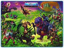 He-Man POSTER Preternia Map Masters of the Universe NO NAMES *VERY LARGE* He Man