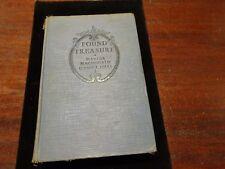 Found Treasure G. Hill Antiq. Book Published 1928 1920's Harlequin-esque Romance