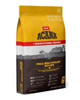 Acana Wholesome Grains Free Run Poultry Limited Ingredient Dog Food 22.5 lb