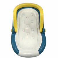 Fisher Price Loving Family Car Seat Carrier for Baby Doll Blue White Yellow 1997