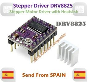 3D Printer Stepstick DRV8825 Stepper Engine Driver Reprap Ramps Replace A4988