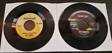Lot of 2 Monument Label Records 45RPM (Used)