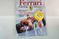 Kyosho DeAgostini Kit Ferrari F2004 / F1-04059 mit Heft OVP Ausgabe Nr.59