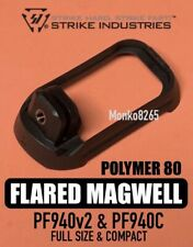 STRIKE INDUSTRIES Polymer Flared Magwell for Poly80 Polymer80 / Glock 17 & 19