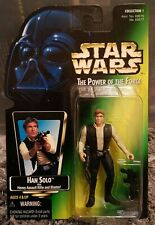 1995 POTF 2 Han Solo Power of the Force 2 Star Wars