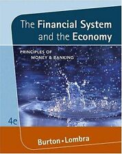Financial System and the Economy : Principles of Money and Banking by Raymond...