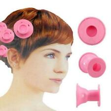 10pcs Hot Beauty Women Roll Hair Maker Curlers Roller Soft Silicone DIY Cosmetic