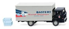 Wiking LKW Magirus 100 D7 Koffer-LKW Bastert 042501