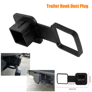 1PC Trailer Hook Dustproof Plug Trailer Hose Cover Hitch Receiver Plug Cover Cap