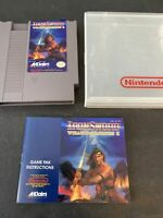 Iron Sword Wizards & Warriors II 2 Nintendo NES Game And Manual