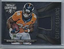 2014 Panini Totally Certified Demaryius Thomas Game Jersey  #CF-DY (Broncos)
