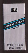 Empty packet  10 Lambert & Butler  King Size