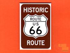 """Route 66 sign 2x3"""" fridge/locker magnet art"""