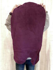 New listing 4-6 oz Purple Buffalo Bison Leather Hide for Native Sca Crafts Moccasins