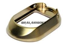 AW HX Aluminium Airsoft Toy Flared Magwell For Marui WE Hi-Capa GBB Gold 0030