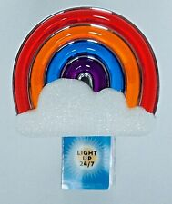 Bath & Body Works Wallflowers Rainbow In The Clouds Home Night Light Plugin New