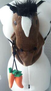 Rucksack, Kinder, Pferd, Plüsch, Reiten, Tasche, Creation Ernesto