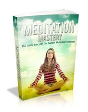 Meditation Mastery Ebook - Correct Strategies Full Resale Rights & Bonus Ebooks