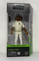 "Star Wars The Black Series ADMIRAL ACKBAR 6"" Action Figure New Sealed Authentic"