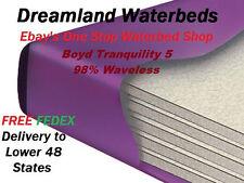 FACTORY DIRECT SALE-SUPER SINGLE 98% Waveless Waterbed Mattress + Drain/Fill Kit