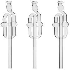 ✅ 3x Gärrohr Gärspund Gärröhrchen Gäraufsatz Gärbehälter Getränkeschützer NEU 👍