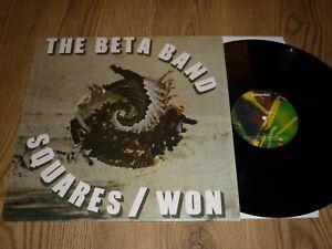 """THE BETA BAND - Squares / Won - UK 12"""" - REGAL REG 58 - IN SHRINK"""