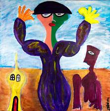 Vrouw in de leegte Norbert de Jong Galerie ARTFORYOU